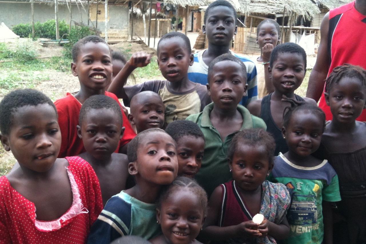 Children - Grand Gedeh County, Liberia