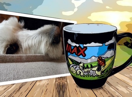 The My Pup Personalized Latte Coffee Mug