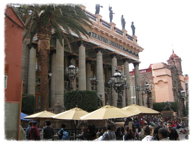 Teatro Juarez in Guanajuato