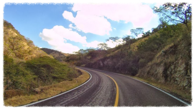 Carretera 160 in the state of Puebla