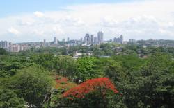 City view - Old Cathedral Tower, Panama Viejo, Panama