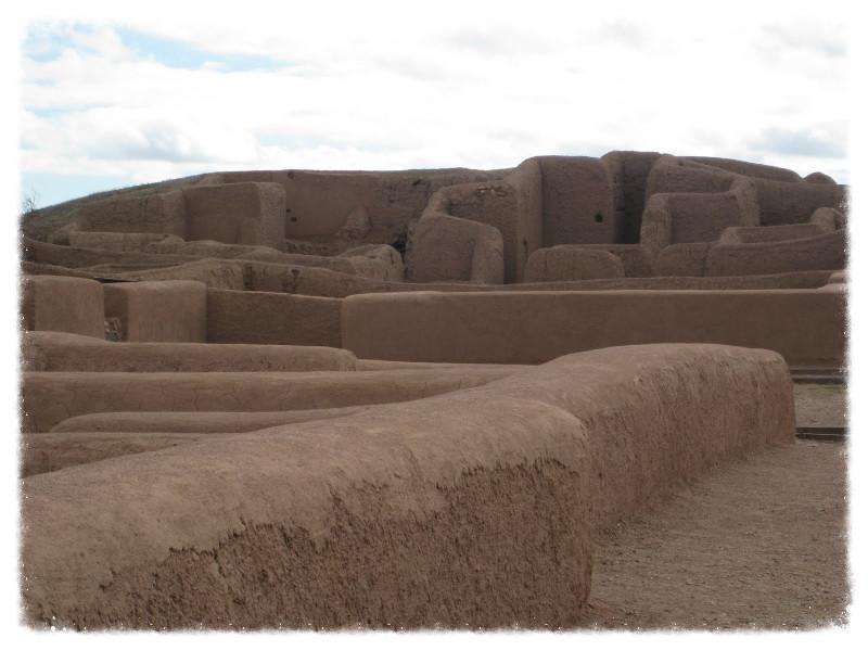 The ruins of Casas Grandes