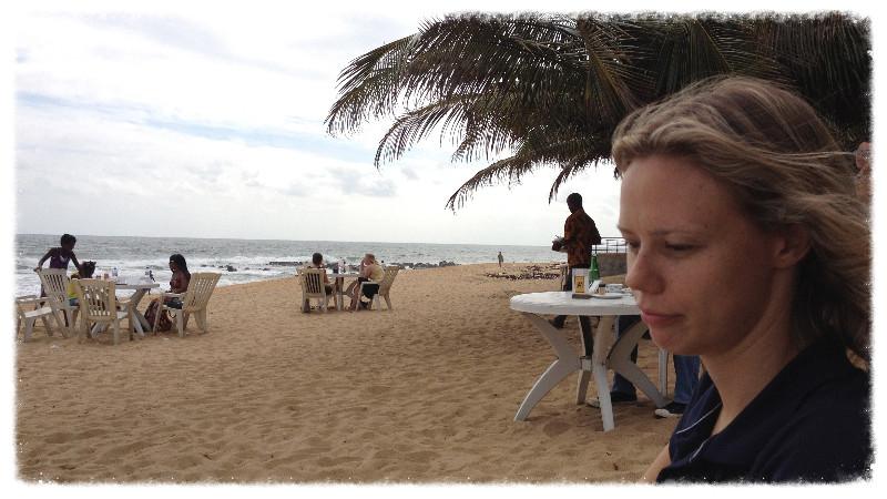 Jess at Beach