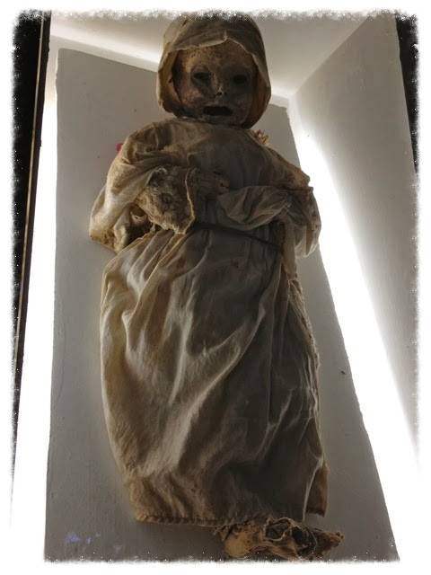 Mummy of an infant girl