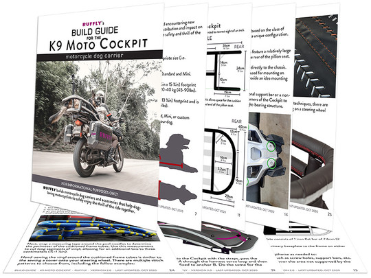 Pages from the K9 Moto Cockpit Build Guide