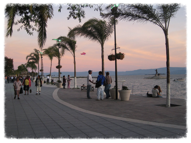 Boardwalk in Chapala
