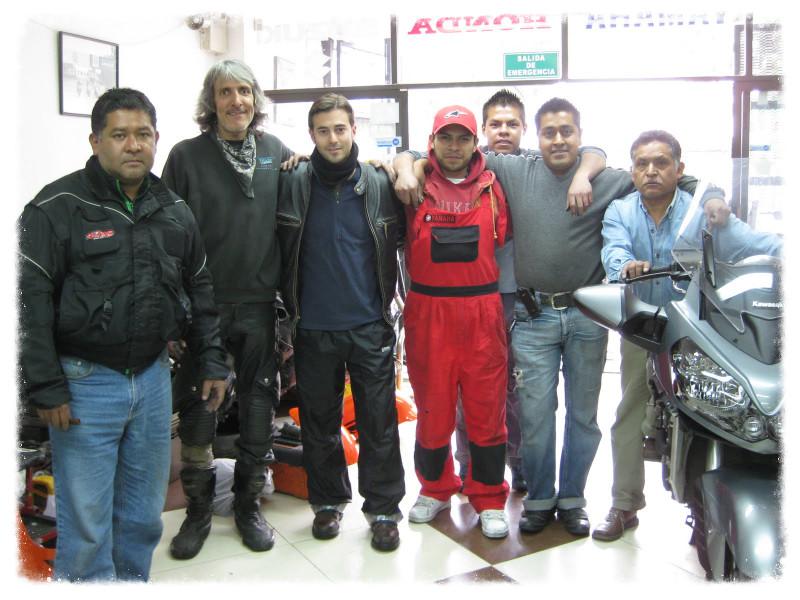 My pals at Moto Servicio Garrido