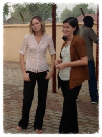 Jess and Maureen in Juba