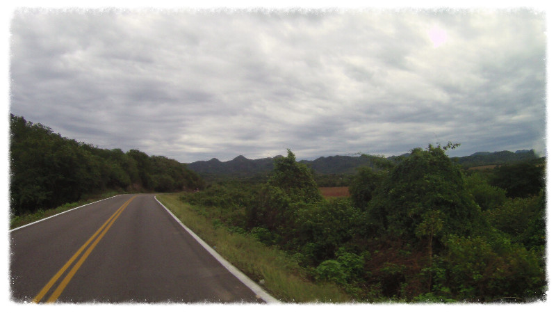 Into the Sierra Madre Occidental mountains