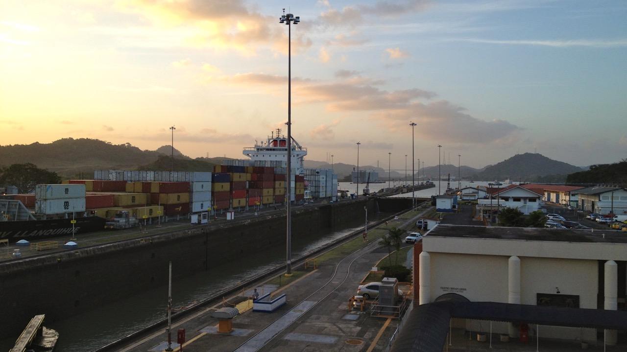 Miraflores Locks, Panama City, Panama