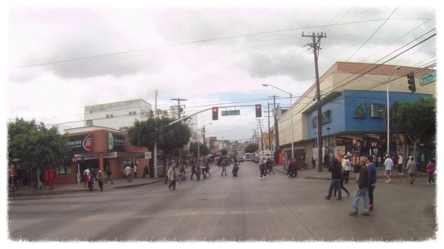Tijuana street scene