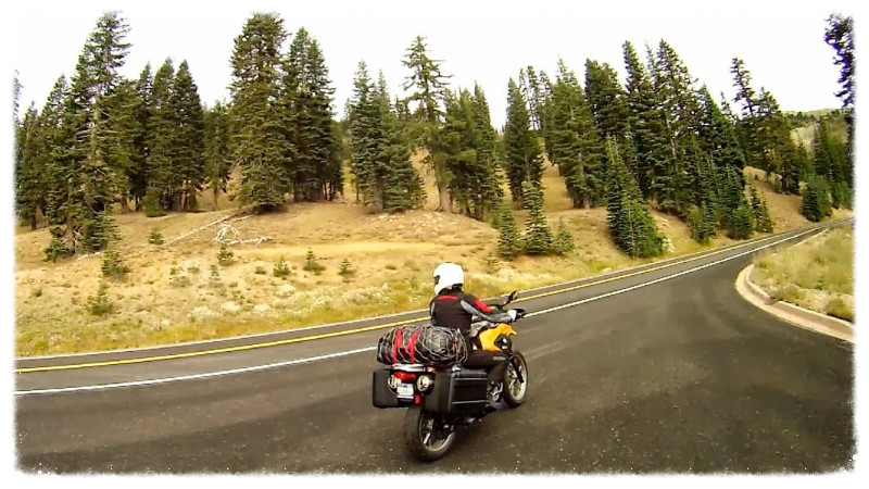 Jess rides Lassen National Park