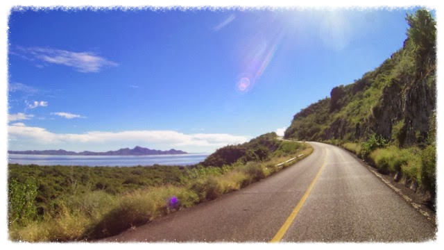 Beautiful coastal mountains and sea views