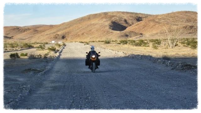 Jessica rides between Puertecitos and Chalapa