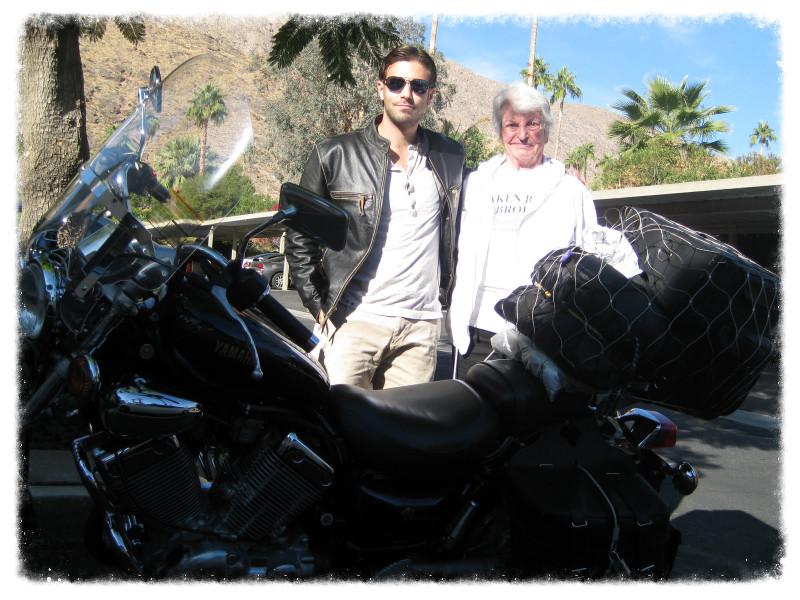 Greg visits Grandma in Palm Springs