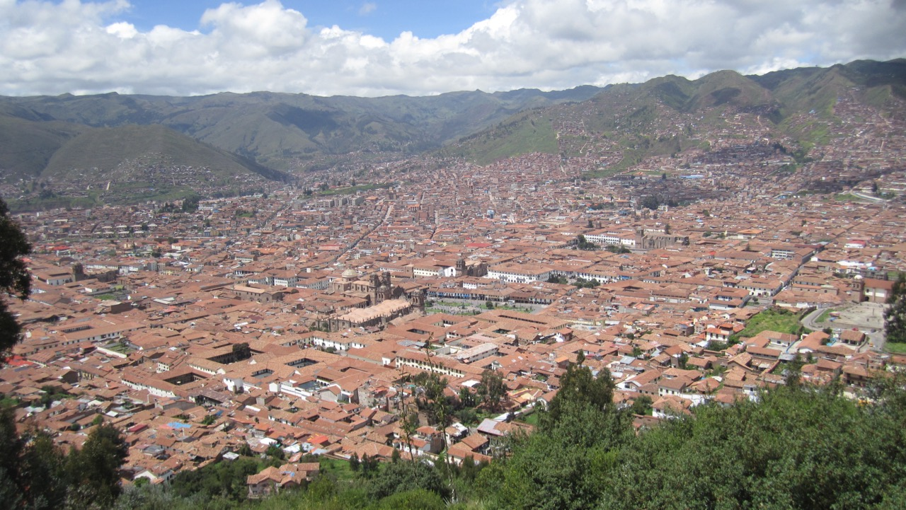 View of Cusco, Perú