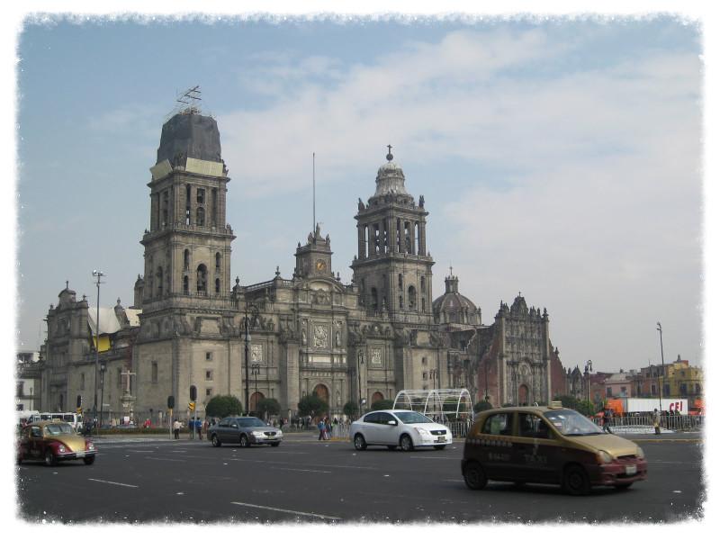 Catedral Metropolitana in Mexico City