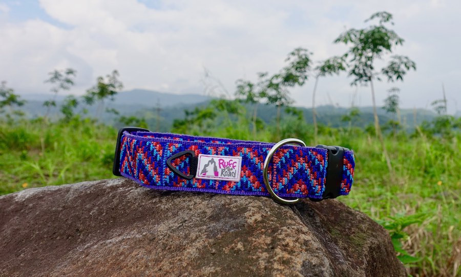 Handmade típico collar made by indigenous Guatemalan artisan women