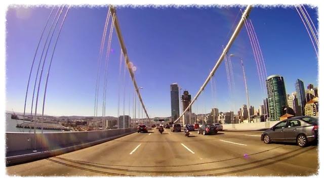 Riding into San Fran