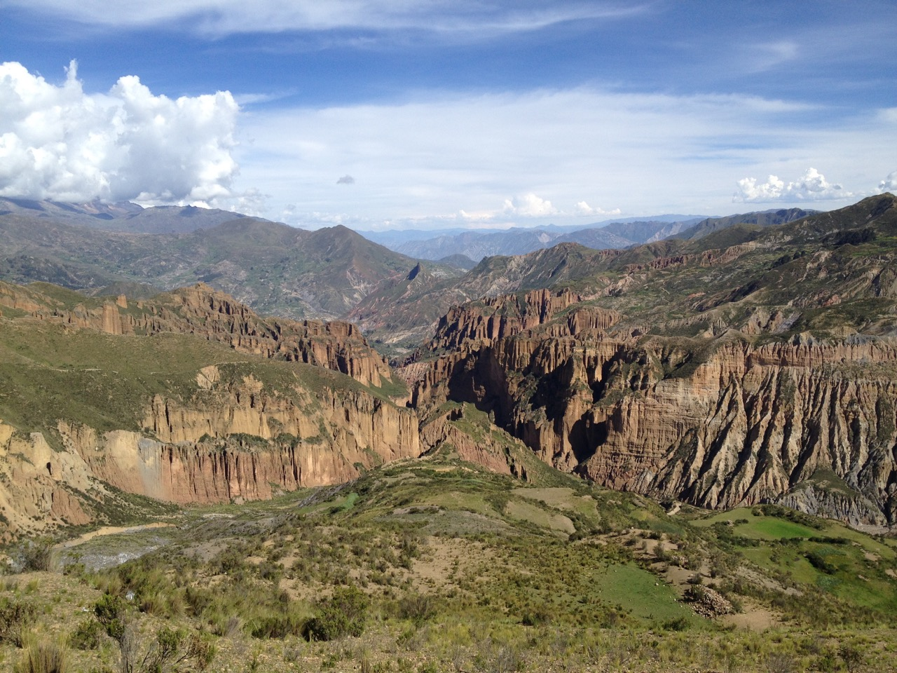 Cañon de Palca, La Paz, Bolivia