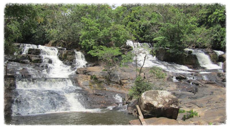Waterfall at Kpatawee