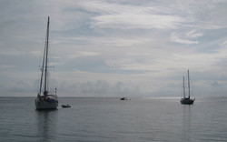 Sailboats - San Blas Islands, Panama
