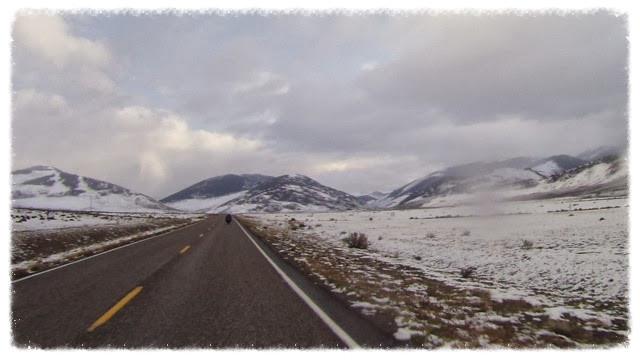 Highway 93 near Mackay, Idaho