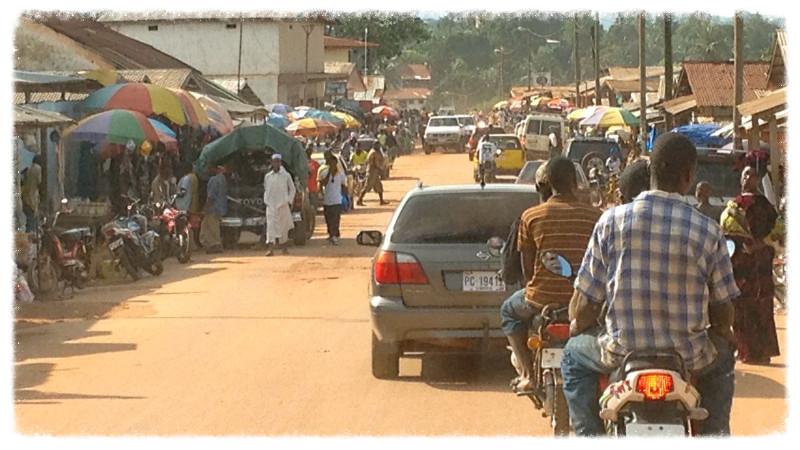 Monrovia-Gbarnga highway