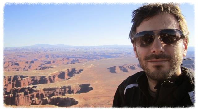 Scruffy Greg at Canyonlands