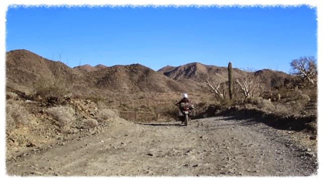 Jess rides into desert