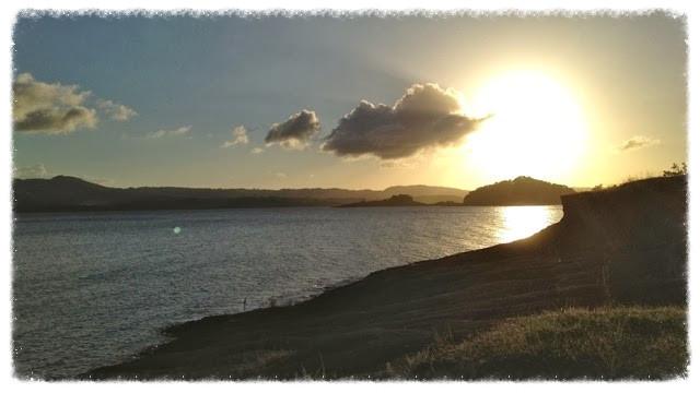 Sunset over Laguna de Arenal