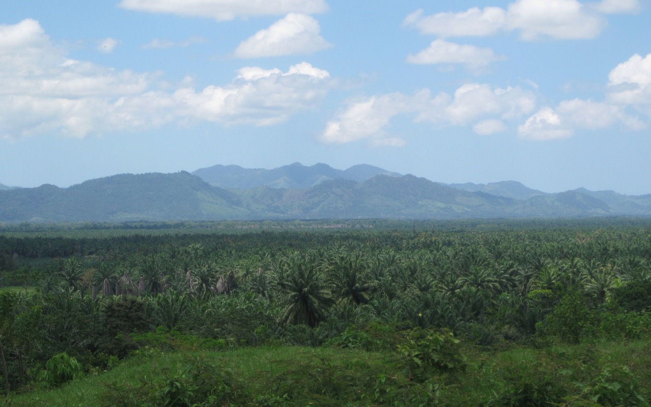 Northern highway La Ceiba-Trujillo, Hondur