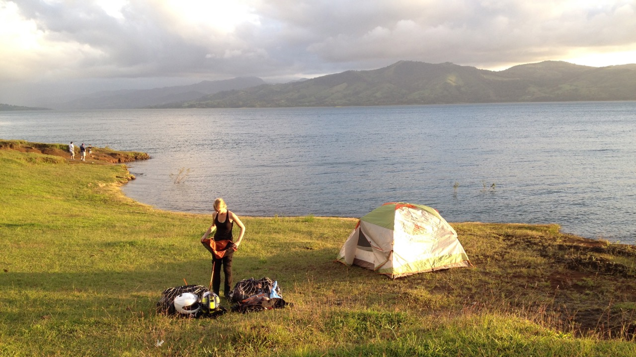 Jess at campsite - Laguna de Arenal, Alajuela, Costa Rica.jpg