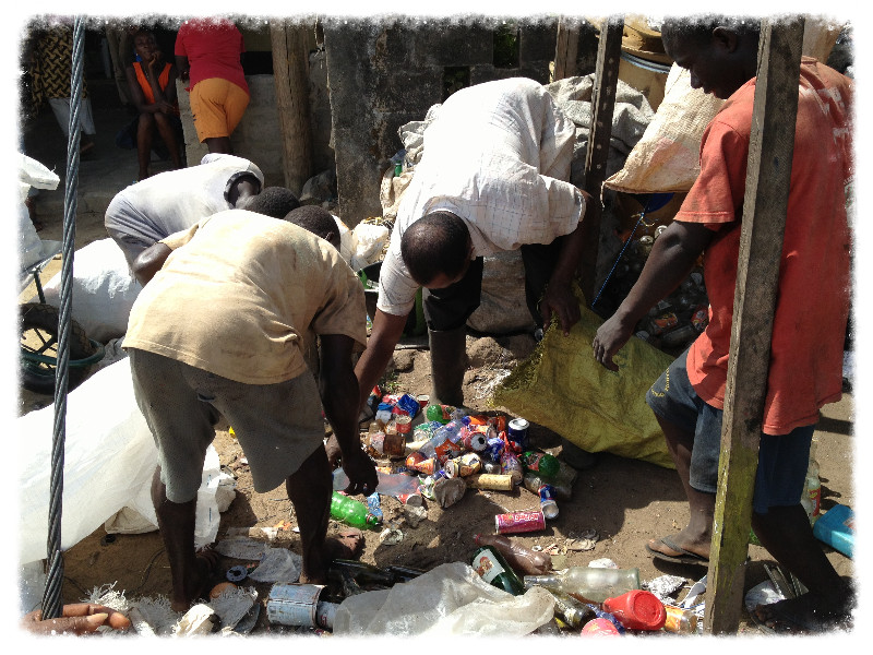 Recycling in Monrovia