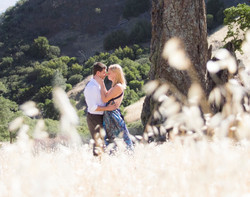 Greg and Jess wedding - at Braveheart rock - Los Padres National Forest