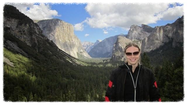 Jess in Yosemite National Park