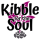 Logo for heartwarming dog videos called Kibble for the SoulLogo for heartwarming dog videos called Kibble for the Soul