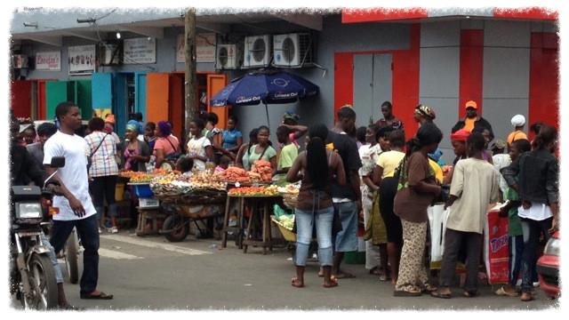 Monrovia street market