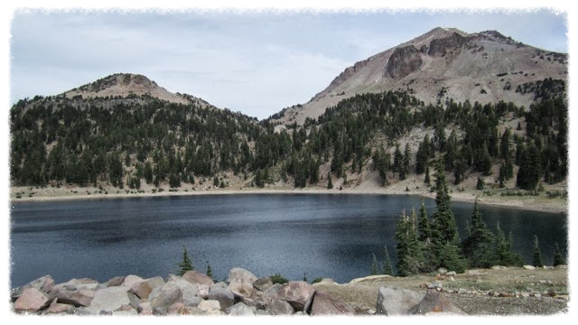Lake Helen in Lassen Volcanic National Park