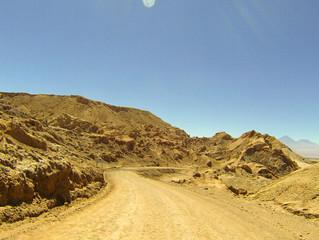 CHILE San Pedro de Atacama to Calama through Valle de la Luna