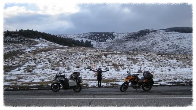 Jess and the girls at Wilson Creek Summit, Idaho