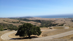 Decent from Hearst Castle - San Simeon, CA, USA