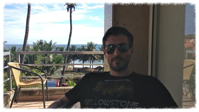 Greg at Mamba Point Hotel