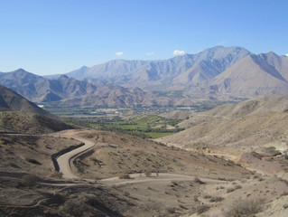 CHILE La Serena to Ovalle through the Foothills