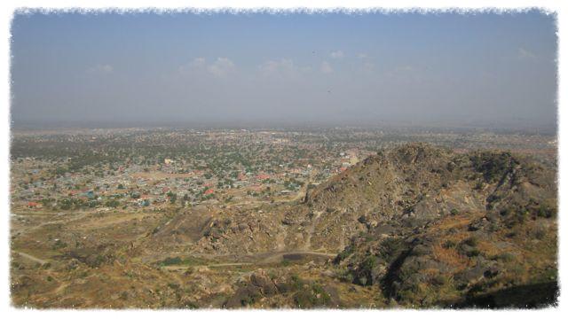 Juba seen from Jebel