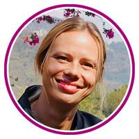 Faceshot of RUFFLY founder Jessica Stone