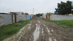 Mud after the rain - Malakal, S Sudan