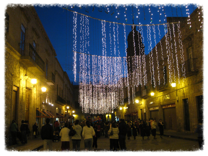 Christmas eve in Morelia