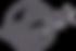 Silhouette of German Shepherd dog running across globe