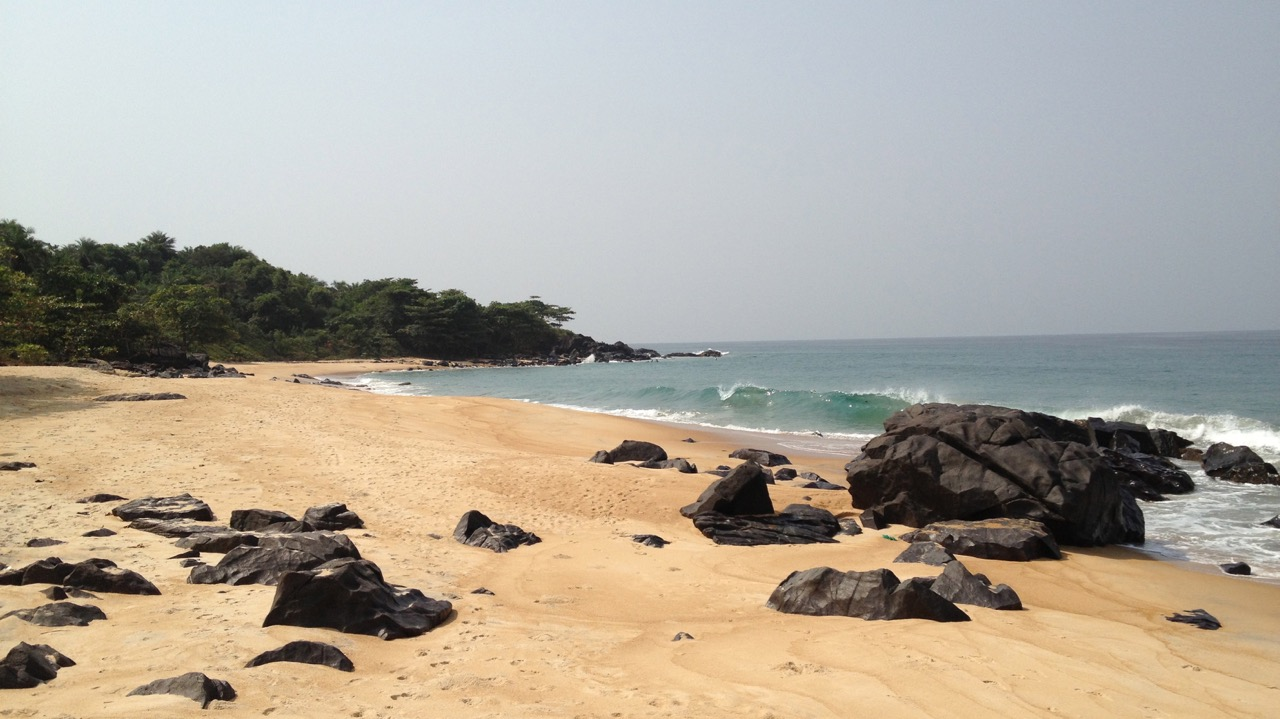Surfer's cove - Robertsport, Liberia